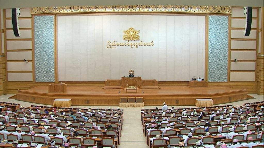 Representatives attending second day session of Pyidaungsu Hluttaw.