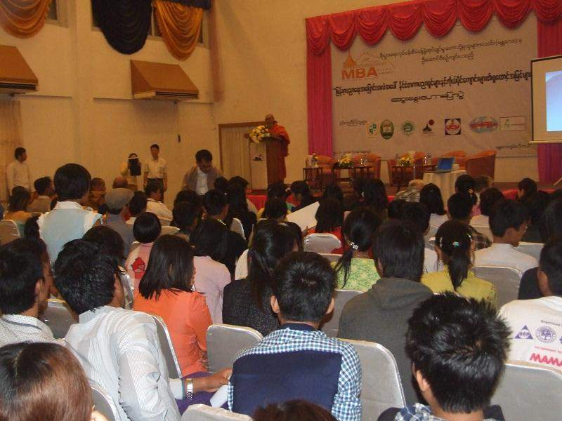 Local and foreign experts discuss reform process in education in Myanmar.