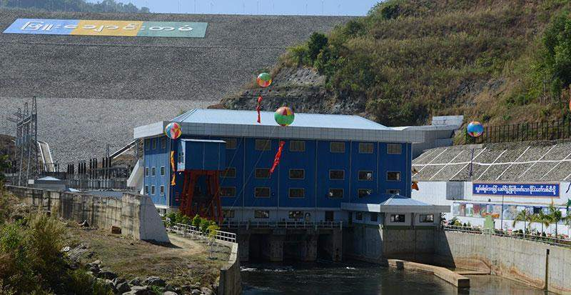 Pyuchaung Dam and hydropower plant commissioned into service on 8 January 2015 will generate  120 million kwh per year.