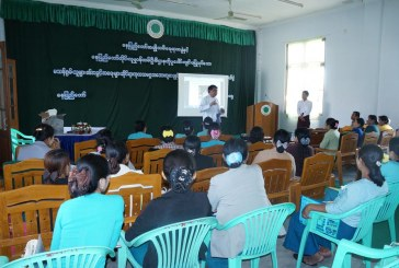 Nay Pyi Taw WAO discusses UN Convention on the Rights of Persons with Disabilities