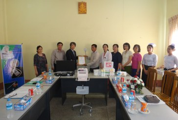 TOITU Co., Ltd of Japan donates hospital equipment to North Okkalapa General Hospital