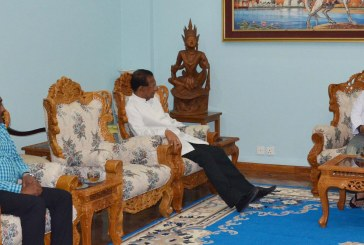 Union FM meets Sri Lankan Ambassador to Myanmar