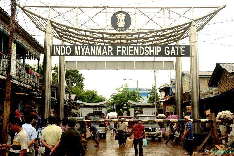 An Indo-Myanmar friendship gate promote  bilateral trade.