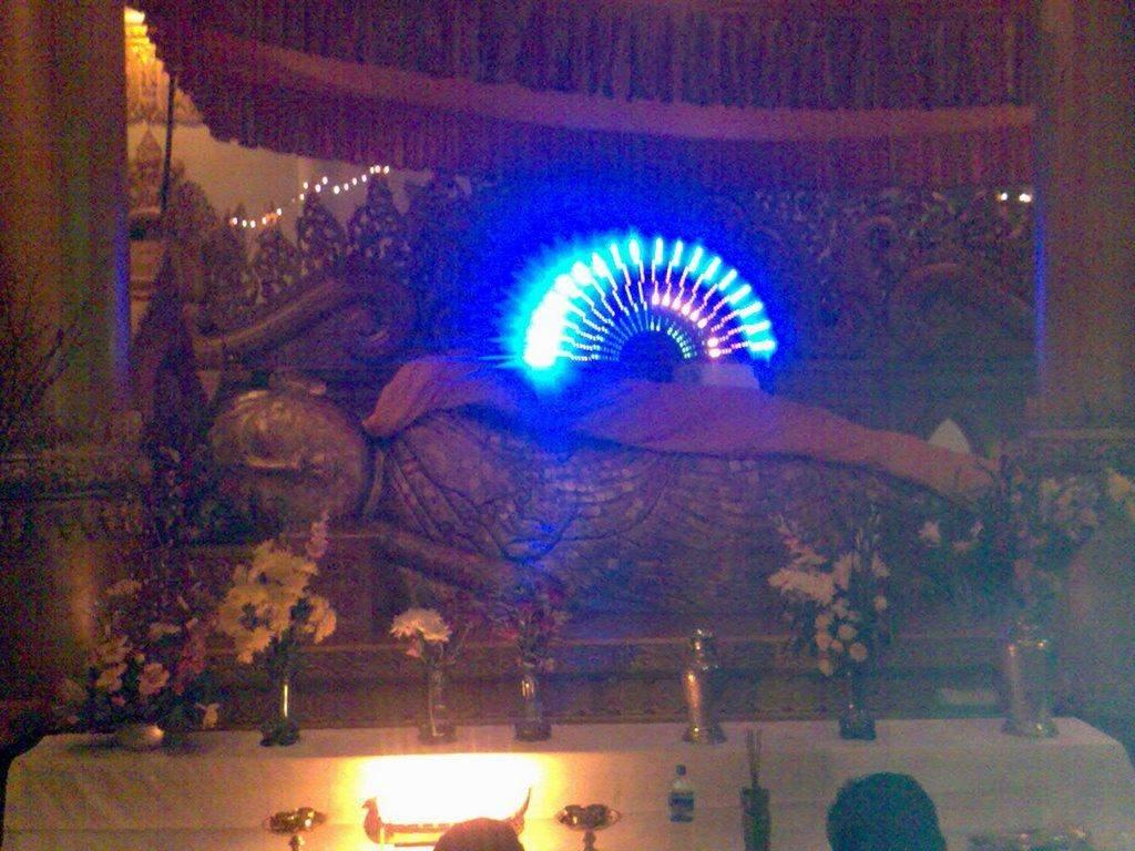 Photo shows enshrine of Alaungdaw Kathapa.