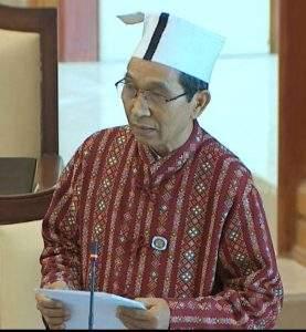 U Paul Htan Htai  of Chin State Constituency 3.