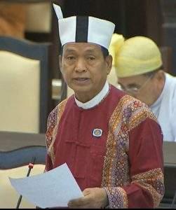 U Paw Hlan Lwin of Chin State Constituency-9.