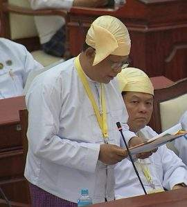 Deputy Minister for Health Dr Win Myint.