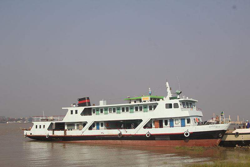 Aungdagon-7 double-decker ferry boat will ply in Rakhine State.