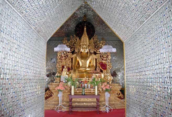Sanda Muni Buddha Image  in Mandalay.