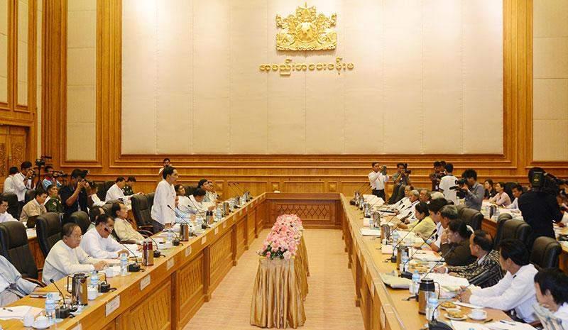 Debate on the national education amendment bill in progress.