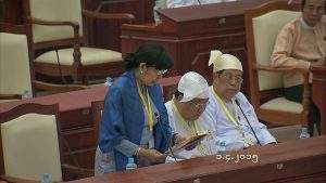 Deputy Minister for Health Dr Daw Thein Thein Htay.—MNA