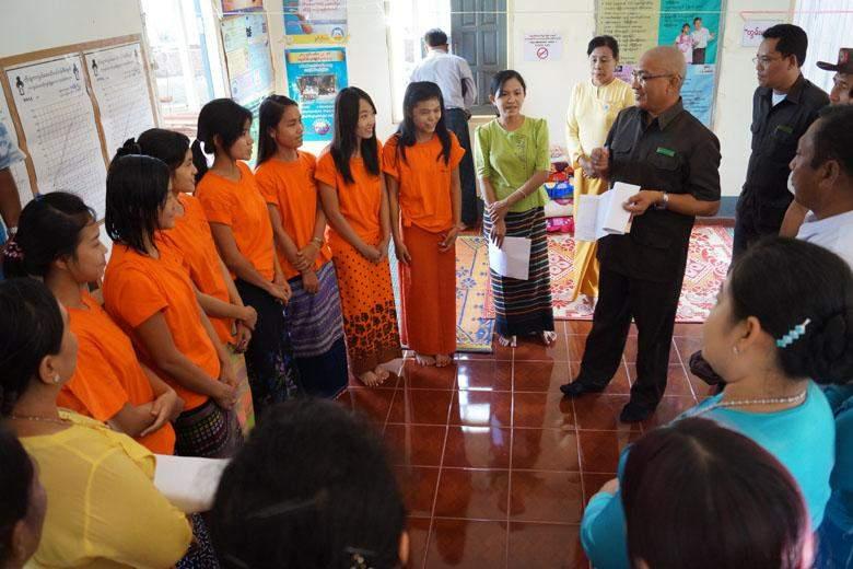 Literacy Campaign Myawady