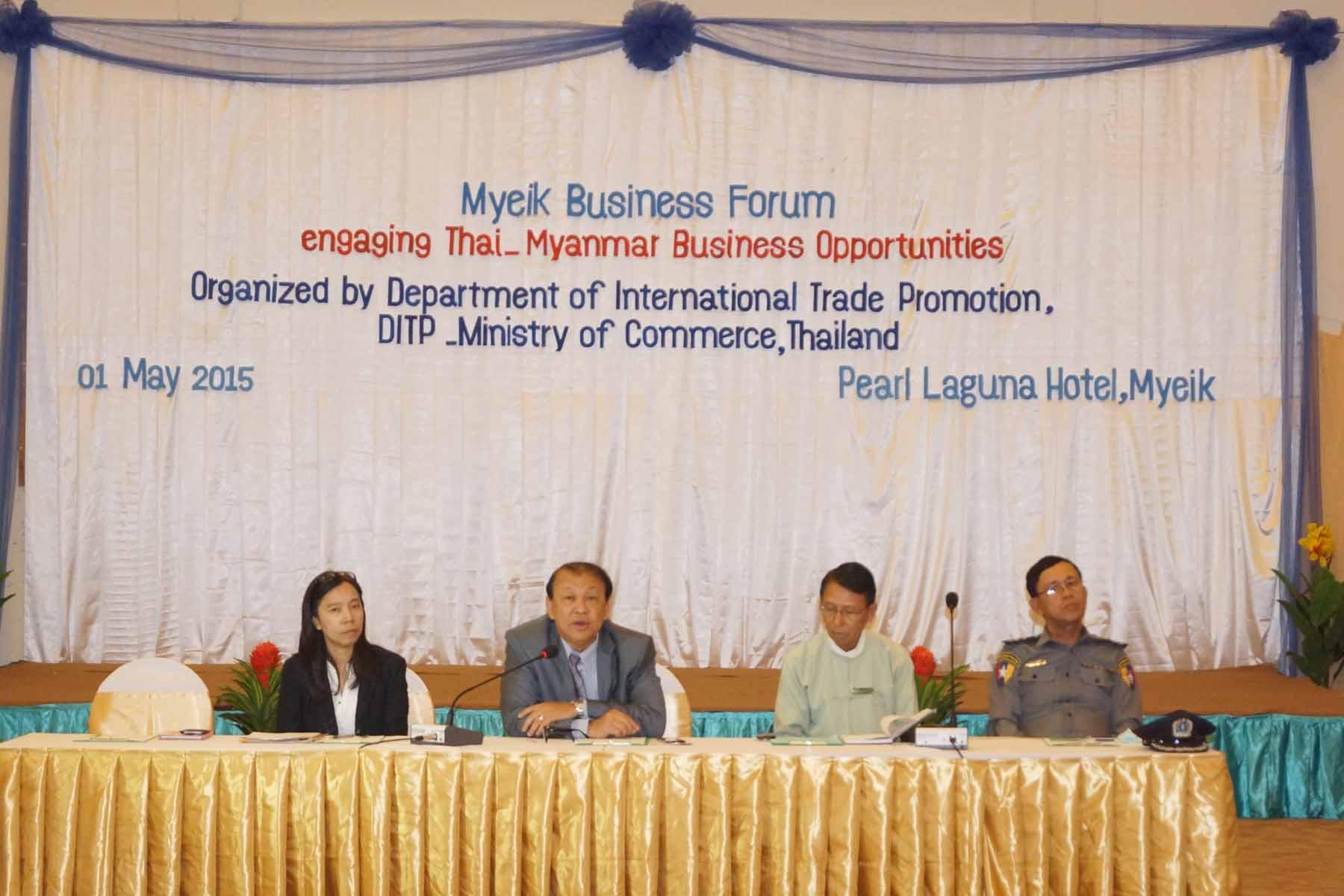 Thai Myanmar Businessmen