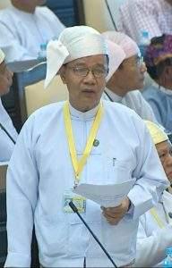 Deputy Minister  U Chan Maung.
