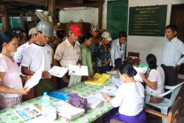 Farmers receive agricultural loans from Myanma Agricultural Development Bank