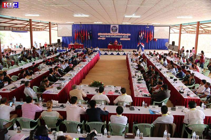 Ethnic Armed Organizations Summit which is set for five days takes places in Law Khee Lar, Kayin State, on Tuesday.  Photo: Credit to KIC