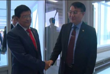 Vice President U Nyan Tun  visits Nuclear Research  Institute in Moscow