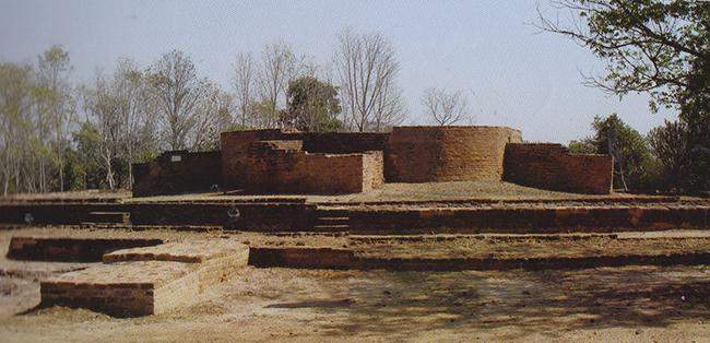 Cultural heritage zone in Beikthano, an ancient city known as Vishnu, in Magway region.
