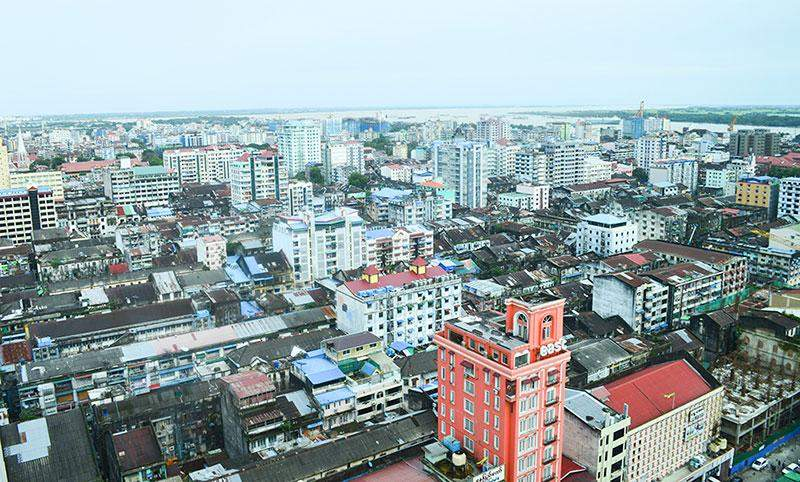 A view of the Yangon skyline.—Photo:Aye Min Soe