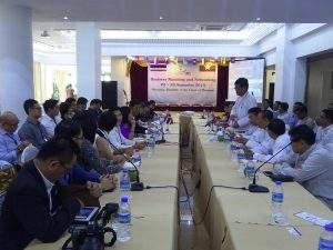 Myanmar and Thai businessmen eye cooperation. Photo: Thiha Ko Ko