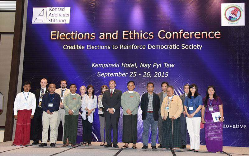 Elections and Ethics Coference aims to promote a stronger understanding of electoral ethics.—  mna