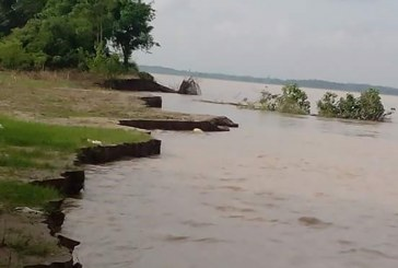 Kyangin villagers evacuated to safer places as river rises