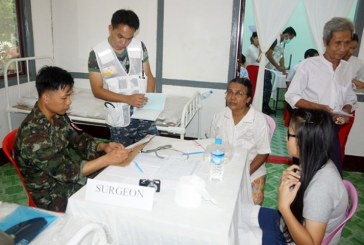 Royal Thai Army provides free medical treatment to residents in Myanaung Township