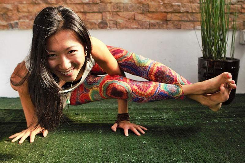 American expat Jojo Yang at Yangon Yoga House. Photo: Supplied by Yangon Yoga House