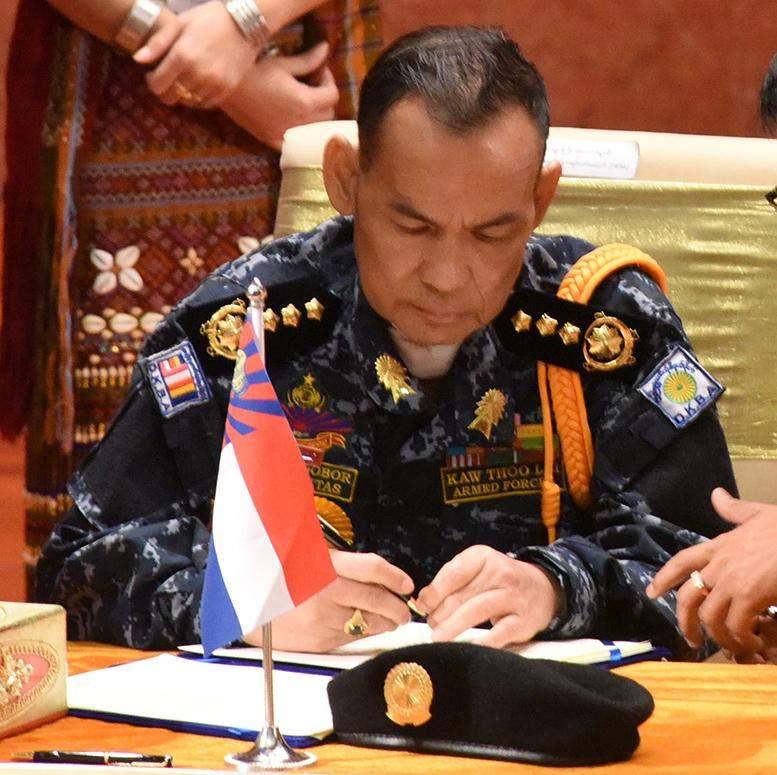 DKBA Chief of Staff Saw Lah Bwe