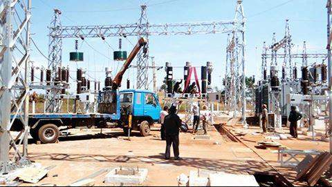 A 66/11 KV 20 MVA sub-station under construction in Inlay Hotel Zone. Photo: Maung Maung Than