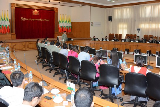 Trainees of Myanmar Egress visit UEC office
