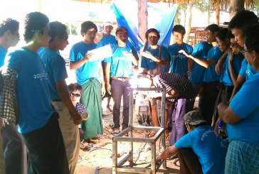 Vocational welding completed in Otharathiri Township