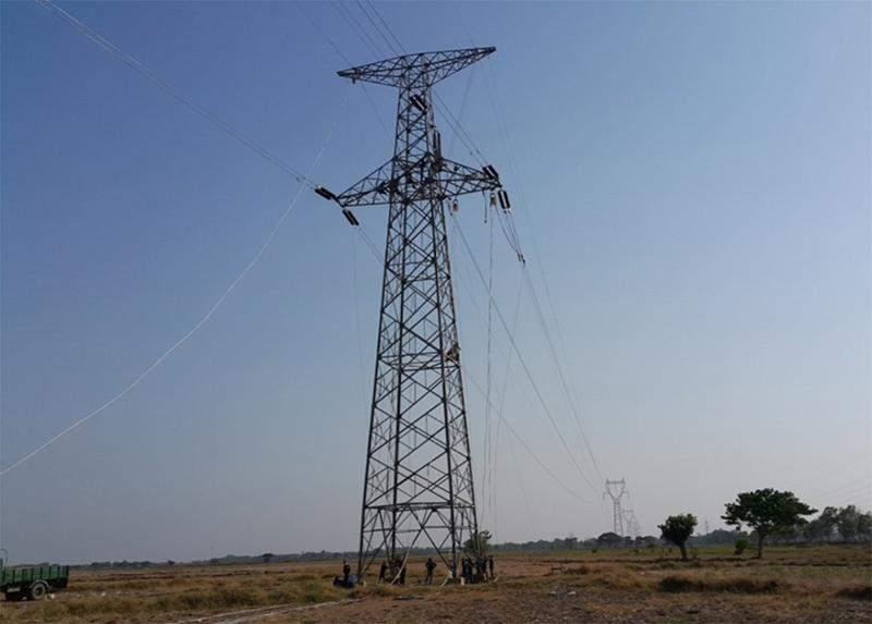23-KV grid linking Athoke and Pathein. Photo: Supplied