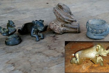 TREASURES UNEARTHED — Refuge of Queen Pan Htwar discovered in Magway