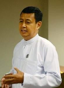 Union Information Minister  U Ye Htut. Photo: MNA