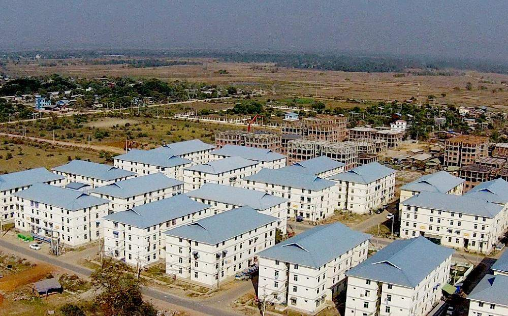 Fair-price housings in Mandalay. Photo: Min Htet Aung