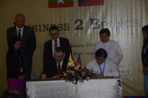 Myanmar and Czech prepare to boost economic cooperation between the two countries. Photo: MNA