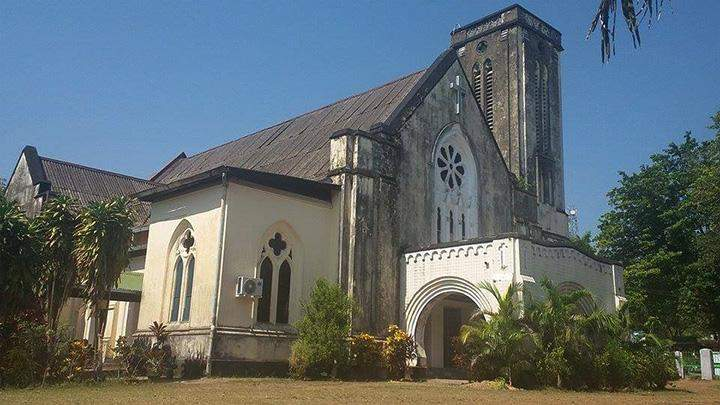 The 188-year-old First Baptist Church in Mawlamyine.