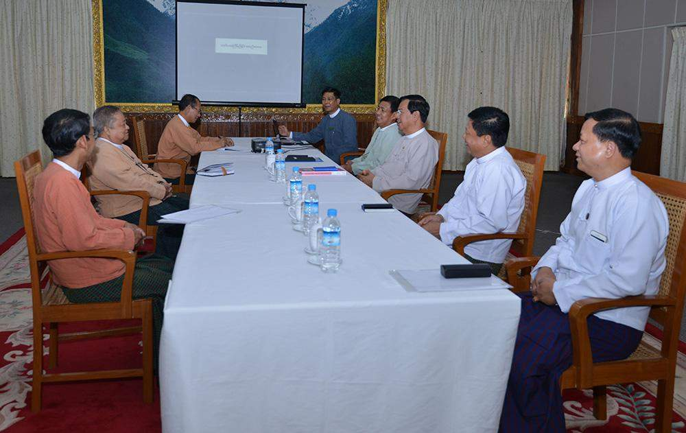 Transition teams of the government and NLD hold third meeting. Photo: MNA