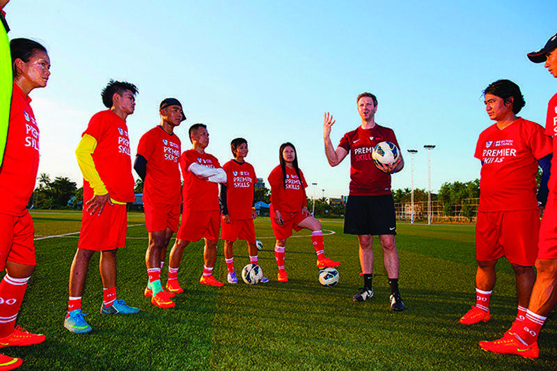 British Council in cooperation with Premier League.