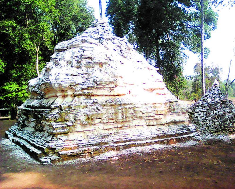 1,000-year-old ancient pagoda.