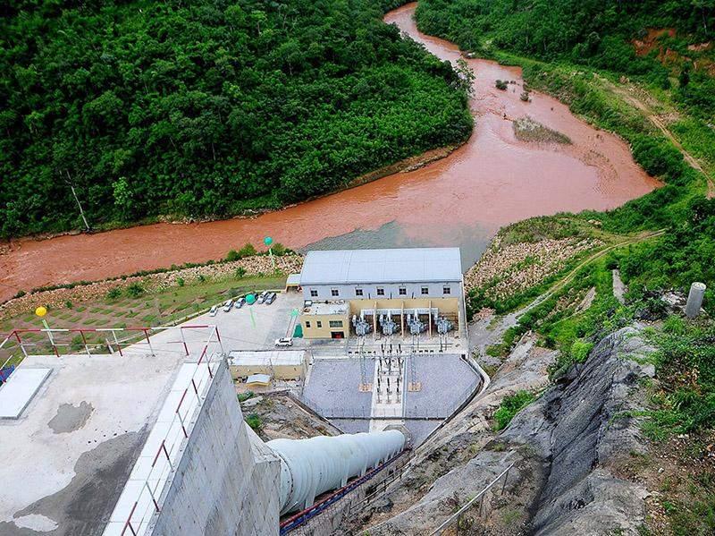 Biluchaung Hydro Power Station. Photo: Than Oo (Laymyathnar)
