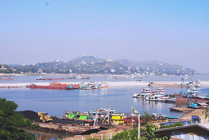 Vessels are urged to follow draft restrictions in Ayayawady River.
