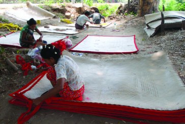Mat producers in Inwa seeing handsome profits