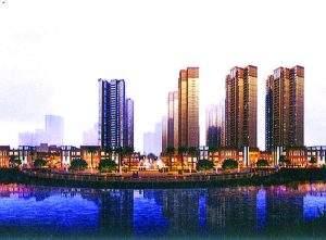 A small scale model of Sea View Condominium. Photo: Mirror