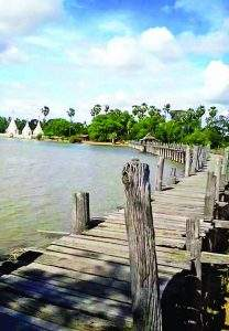 Ma-U Bridge. Photo: Phay Htun Zaw (Yesagyo)