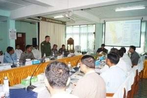 The meeting in progress. Photo: Htein Linn Aung