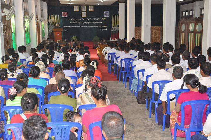 Authorities handed over 46 underage soldiers to families.