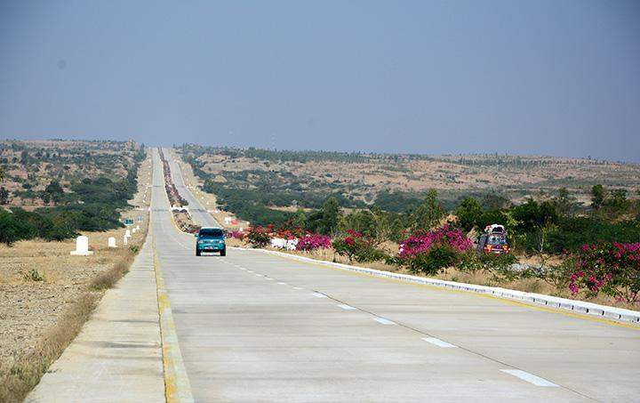 The aim to upgrade the two sections of the Yangon-Mandalay Highway is to reduce traffic accidents on them.