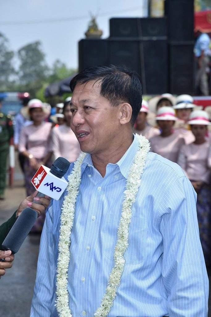 Senior General Min Aung Hlaing.